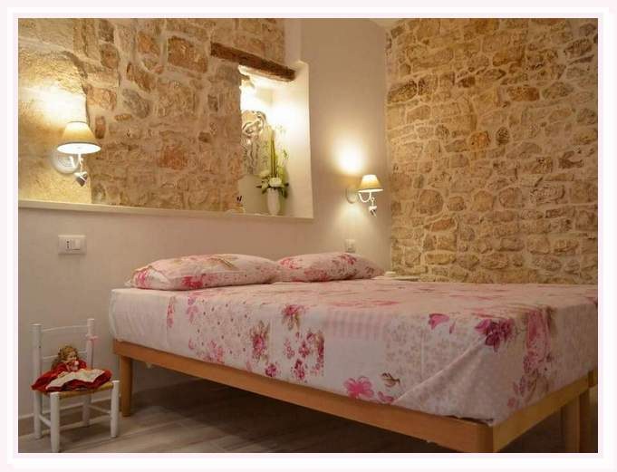 camera-matrimoniale-venere-shabby-bed and breakfast-cielididante-1