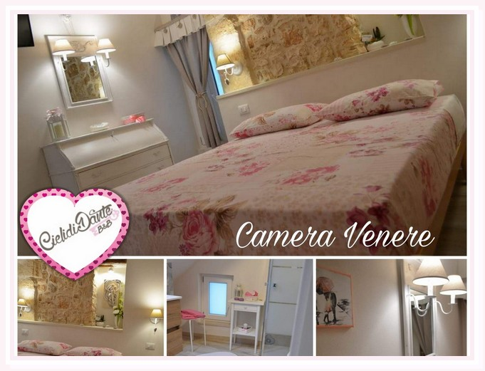 camera-matrimoniale-venere-shabby-bed and breakfast-cielididante